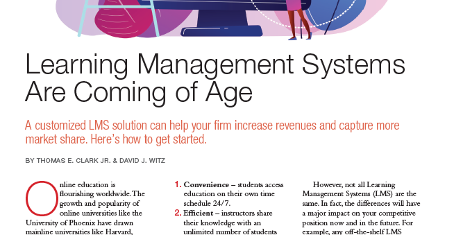 Learning Management Systems Are Coming of Age